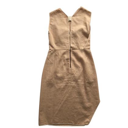 Narciso Rodriguez Apricot midi dress