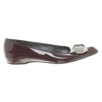 Roger Vivier Slipper in Bordeaux