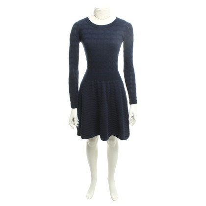 Sandro Knitted dress in blue