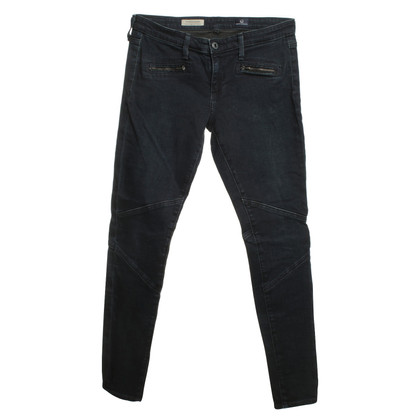 "Adriano Goldschmied Jeans ""The Moto Legging"" in blue"