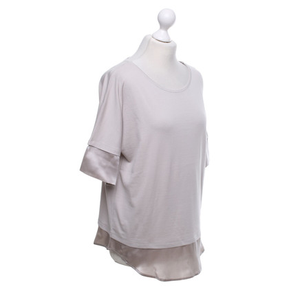 Marc Cain Shirt in grigio-beige