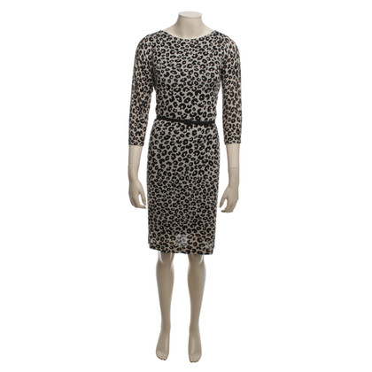 St. Emile Dress with Animal Print