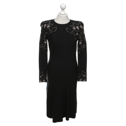 Alexander McQueen Dress in black / beige