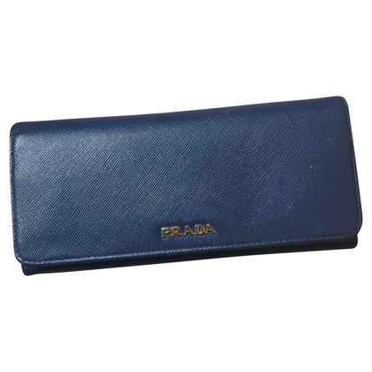 Prada Brieftasche in Blau