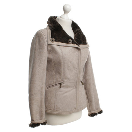Armani Jeans Jacket with furry