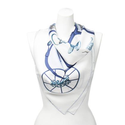 """Hermès Silk scarf """"Springs"""""""