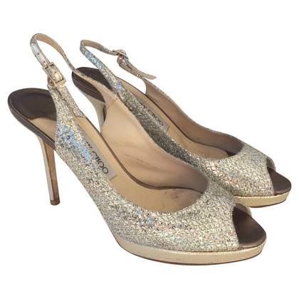 Jimmy Choo Slingback-Peeptoes