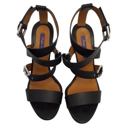 Ralph Lauren Sandals in zwart