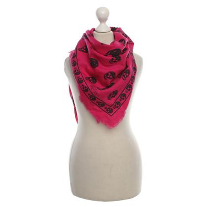 Alexander McQueen Sjaal roze