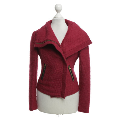 Juicy Couture Bouclé jacket in fuchsia