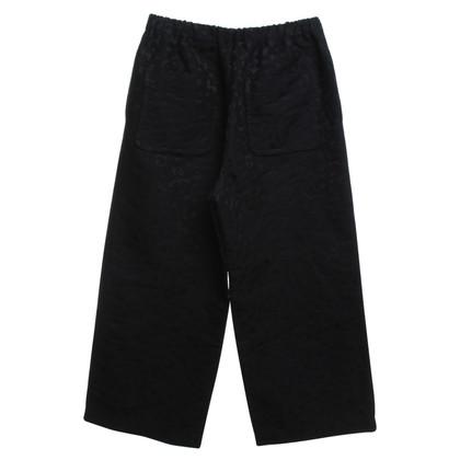 Comme des Garçons trousers with jacquard pattern