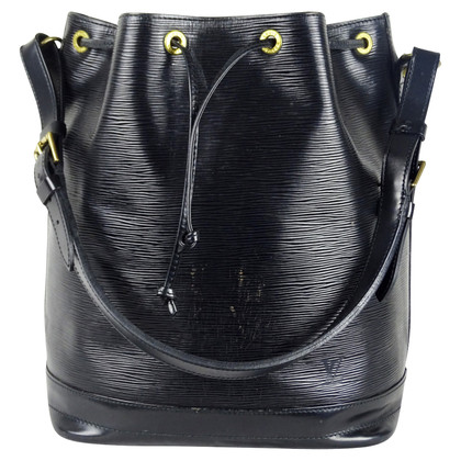 "Louis Vuitton ""Grand Noé Epi leather"" in black"
