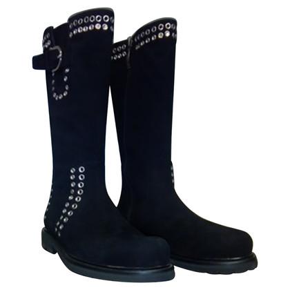 Cesare Paciotti Boots gemaakt van suède