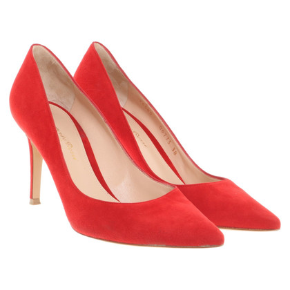 Gianvito Rossi pumps en rouge