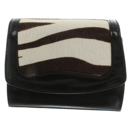 Escada Shoulder bag with animal print