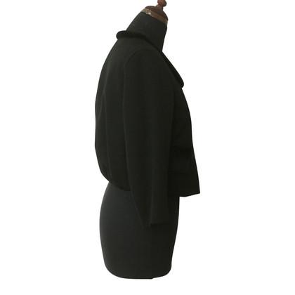 Yves Saint Laurent Blazer mit Nerzfell-Details
