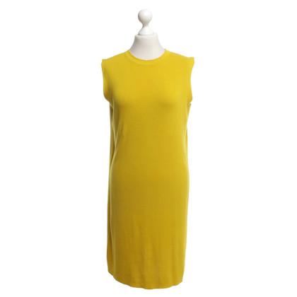 Acne Strickkleid in Gelb