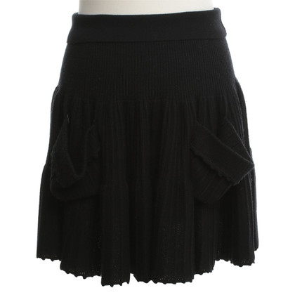 Sonia Rykiel skirt in black
