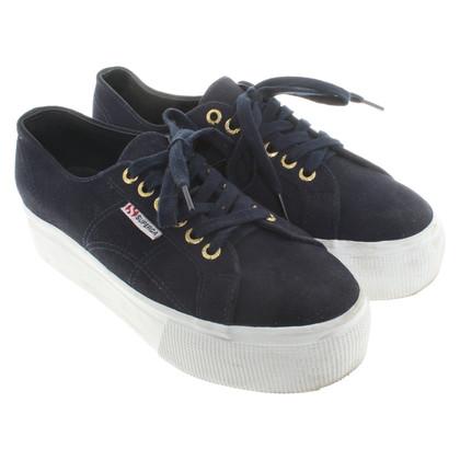 Superga Dark blue sneakers