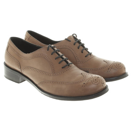 Bottega Veneta Budapest lace-up shoes in brown