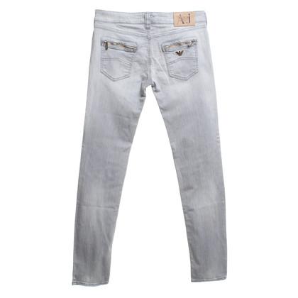 Armani Jeans Jeans in grigio chiaro