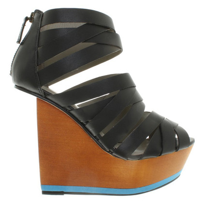 Finsk Sandaletten mit Keilabsatz
