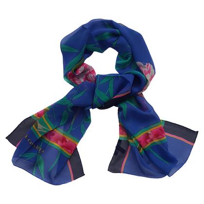 Leonard silk scarf with print