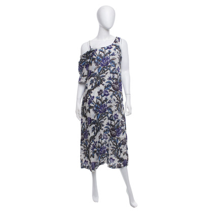 Dries van Noten Dress in blue / white