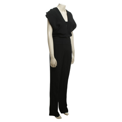 Haider Ackermann Jumpsuit in zwart