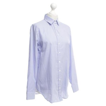 Van Laack Striped oversized blouse