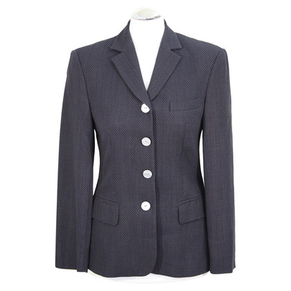 Laurèl Wool Blazer in dark blue