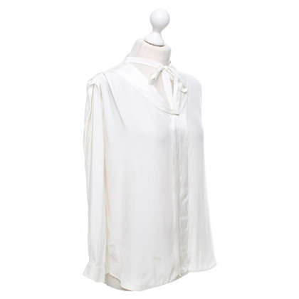 Sandro top made of silk