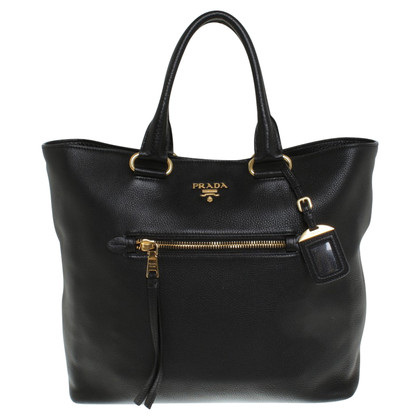 Prada Leather handbag in black