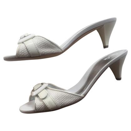 D&G Sandals in white