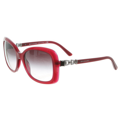 Bulgari Sonnenbrille in Bordeaux