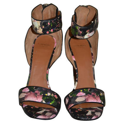 Givenchy flowered leather sandals