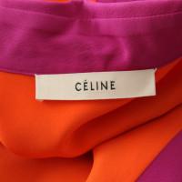 Céline Blouse en soie bicolore