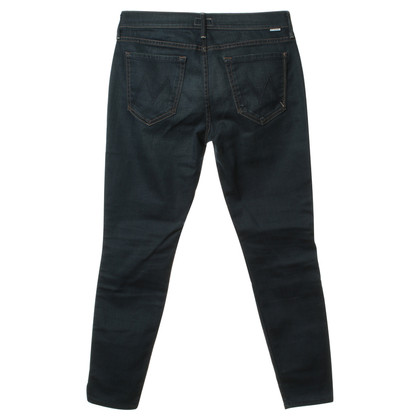 "Mother Jeans ""The Vamp"" in Blau"