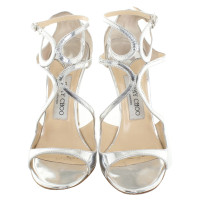 Jimmy Choo Silver colored sandals
