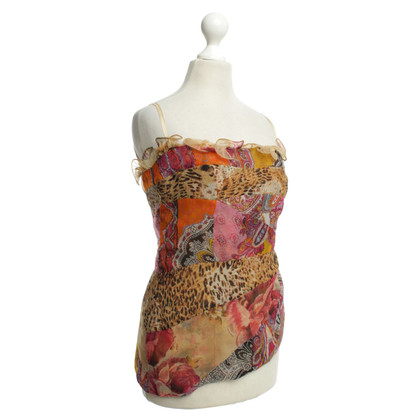 Ella Singh Bandeau top with print motif