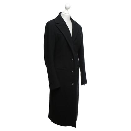 Versace Versus - Mantel in Schwarz