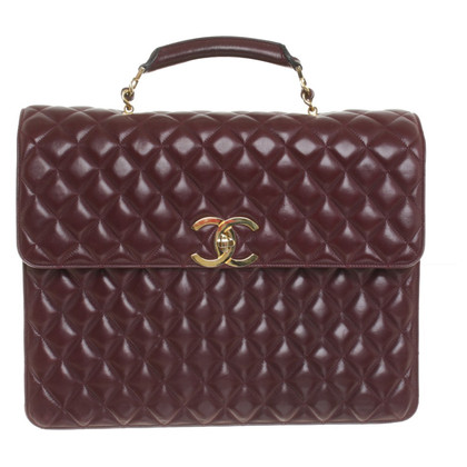 Chanel Briefcase in Bordeaux