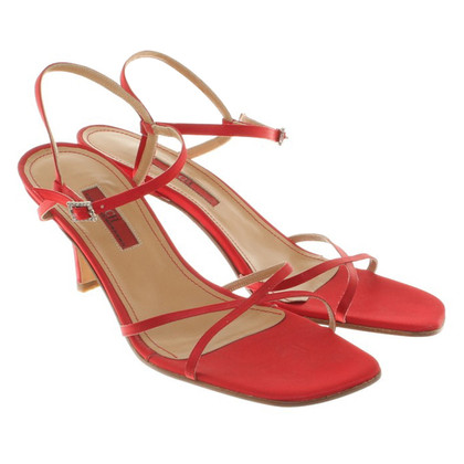Carolina Herrera Sandaletten in Rot