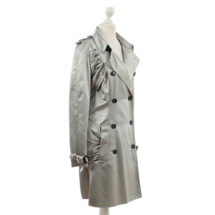 Burberry Prorsum Trench coat in argento