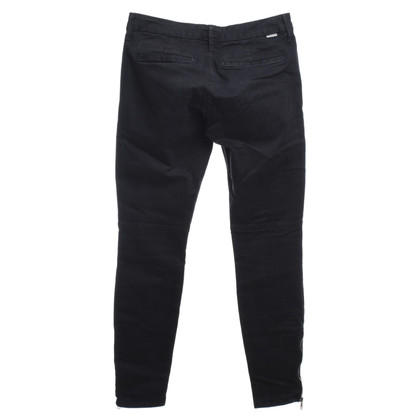 Mother Skinny pants with zippers