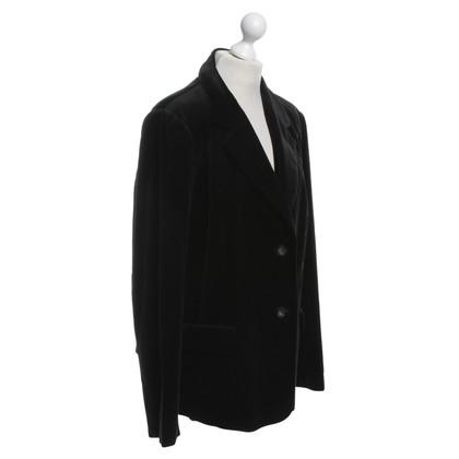 Marina Rinaldi Black blazer made of velvet