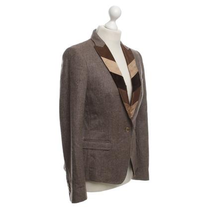 Dolce & Gabbana Blazer con disegno a spina