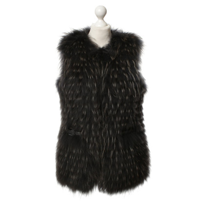 Moncler Down vest with reversing function