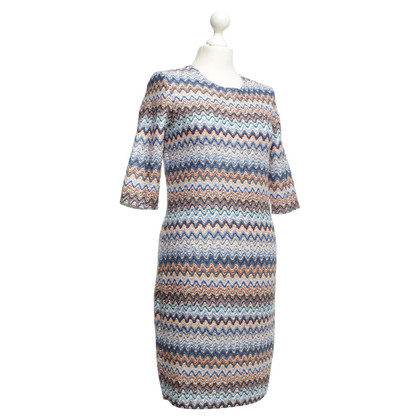 Riani Kleid mit Zick-Zack-Muster