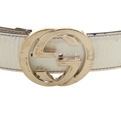 Gucci Cintura con Guccissima rilievo